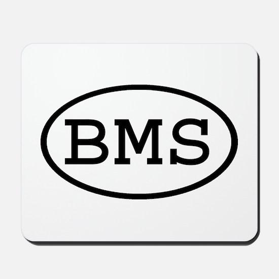 BMS Oval Mousepad