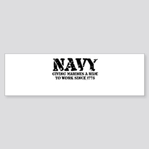 NAVY Bumper Sticker