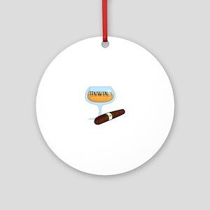 Unwind Ornament (Round)