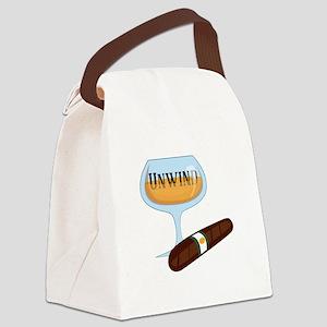 Unwind Canvas Lunch Bag