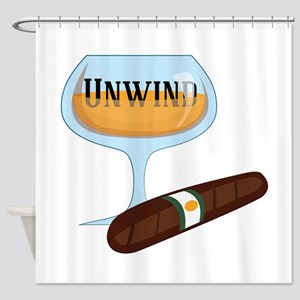 Unwind Shower Curtain