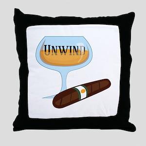 Unwind Throw Pillow