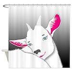 Cute Goat Animal Shower Curtain