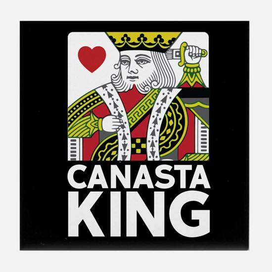 Canasta King Tile Coaster