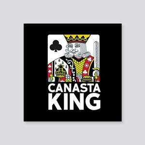 Canasta King Sticker