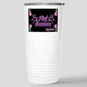 2-Lil pink crush decade Stainless Steel Travel Mug