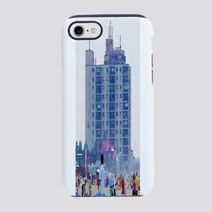 Extra Long Dreamy Building iPhone 7 Tough Case