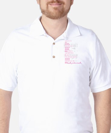 Lil pink crush sound.jpg Golf Shirt