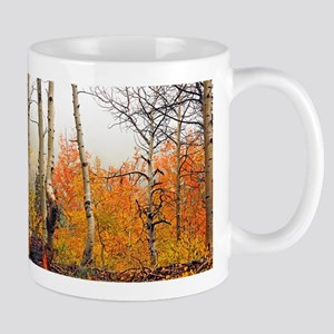 Misty Autumn Aspen 2 Mug