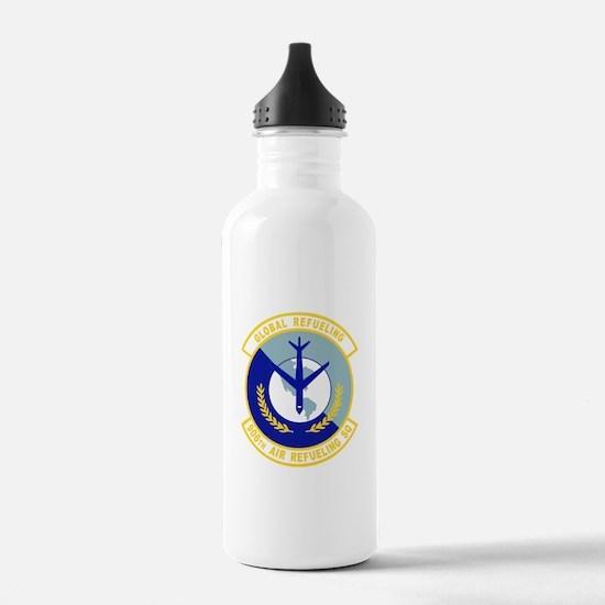 906_air_refueling_sq.p Water Bottle
