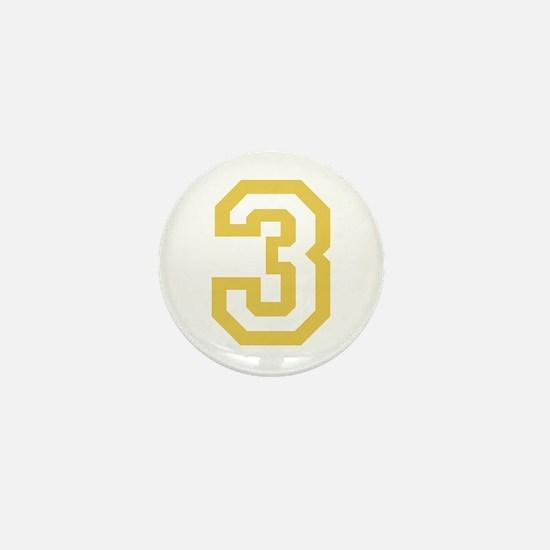 GOLD #3 Mini Button