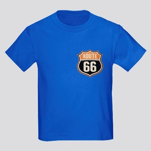 Route 66 -1214 Kids Dark T-Shirt