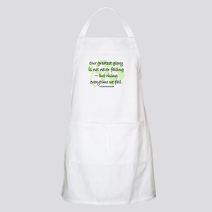OUR GREATEST GLORY Apron