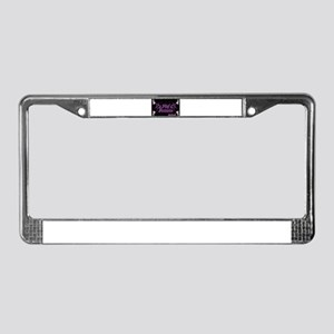 Lil pink crush decadence2 License Plate Frame