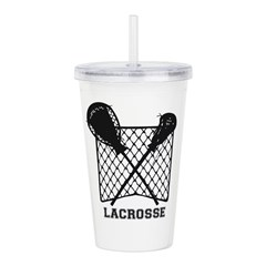 Lacrosse By Other Acrylic Double-Wall Tumbler