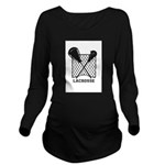 Lacrosse By Other Long Sleeve Maternity T-Shirt