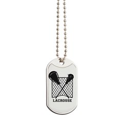 Lacrosse By Other Sports & Stuff Llc Dog Tags