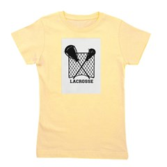 Lacrosse by Other Sports & Stuff LLC Girl's Tee