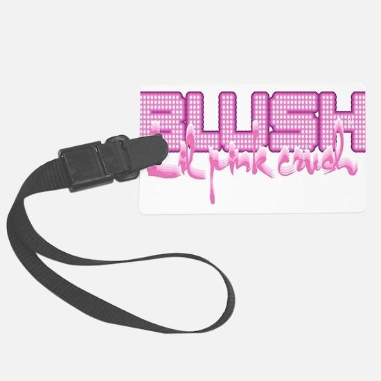 Lil pink crush blush.jpg Luggage Tag
