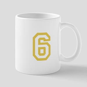 GOLD #6 Mug