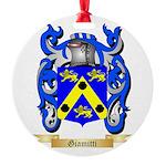 Giamitti Round Ornament