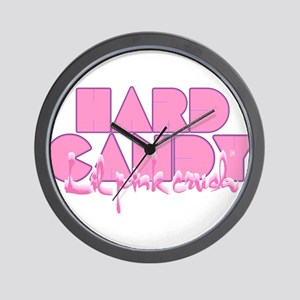 Lil pink crush hard candy Wall Clock