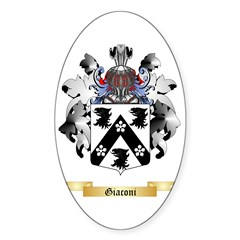 Giaconi Sticker (Oval 50 pk)
