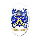 Giacomuzzo 35x21 Oval Wall Decal