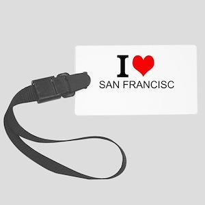 I Love San Francisco Luggage Tag