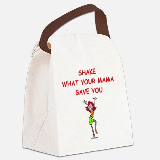 Unique Jitterbug Canvas Lunch Bag