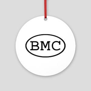 BMC Oval Ornament (Round)