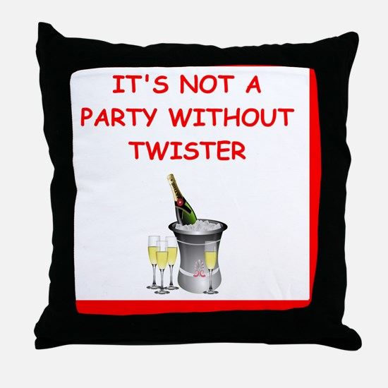 Cute Twister Throw Pillow