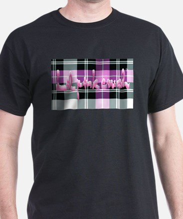 Lil Pink Crush Plaid T-Shirt