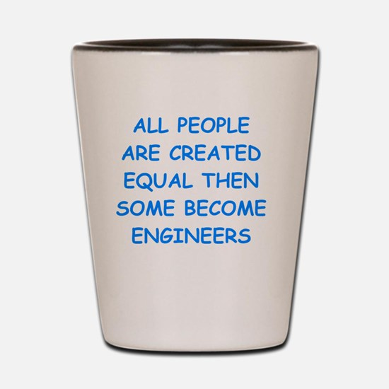 Cute Civil engineering Shot Glass