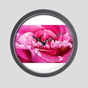 Lil Pink Crush Pink Rose2 Wall Clock