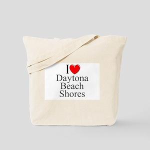 """I Love Daytona Beach Shores"" Tote Bag"