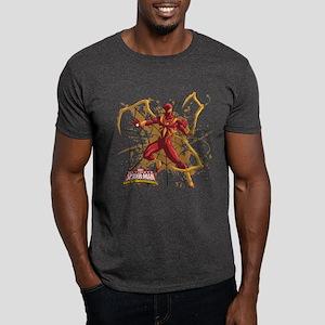 Iron Spider Web Dark T-Shirt