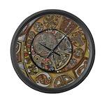 Celtic Steampunk Large Wall Clock