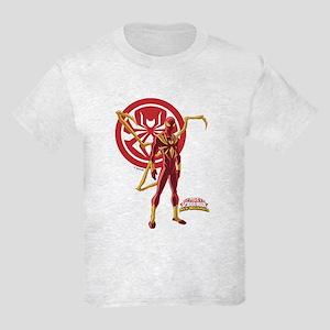 Iron Spider Standing Kids Light T-Shirt