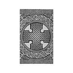 Celtic Cross 3'x5' Area Rug