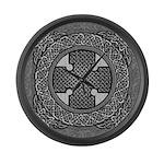 Celtic Cross Large Wall Clock