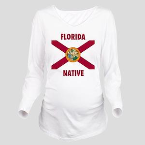Florida Native Long Sleeve Maternity T-Shirt