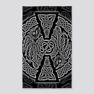 Celtic Dragons 3'x5' Area Rug