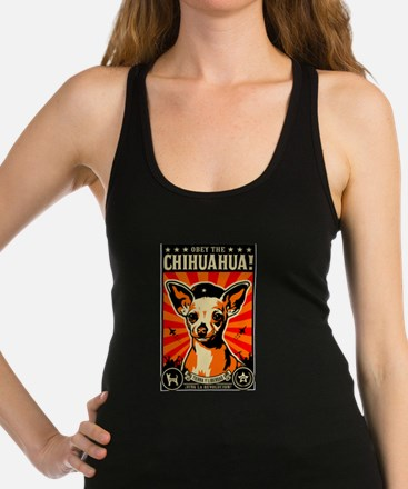 Funny Chihuahua Racerback Tank Top