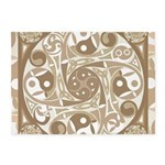 Celtic Stepping Stone 5'x7'Area Rug