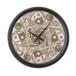 Celtic Stepping Stone Large Wall Clock
