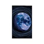 Celtic Blue Moon 3'x5' Area Rug