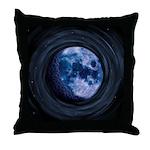 Celtic Blue Moon Throw Pillow