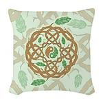 Celtic Balance Woven Throw Pillow