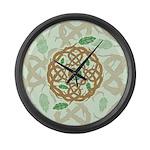 Celtic Balance Large Wall Clock